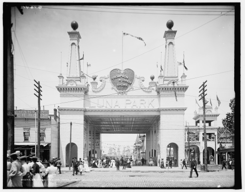 Luna Park, Coney Island, Summer 1905